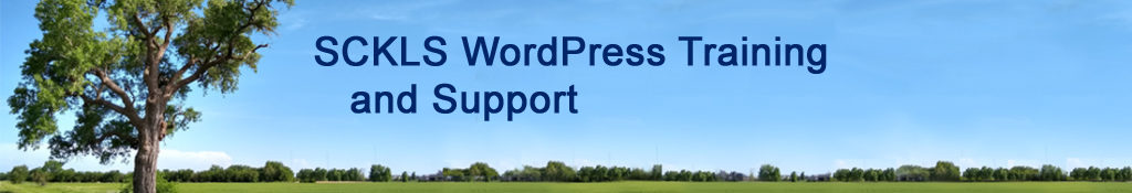 SCKLS WordPress Training and Support